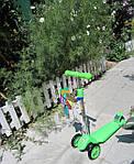 Scooter Smiley - Детский трехколесный самокат с регулируемой ручкой. Для детей от 2-х до 7 лет.