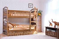 """Двухъярусная кровать для детей с лестницей """"Карина"""", фото 1"""