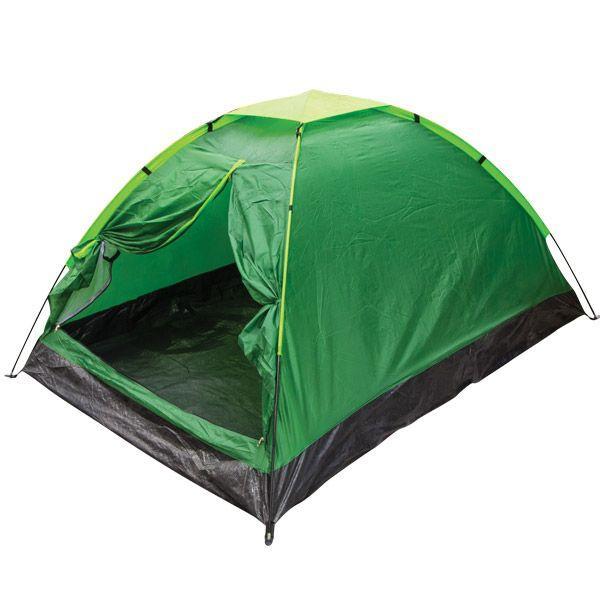 Двомісна Палатка туристична зелена