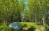 Двомісна Палатка туристична зелена, фото 10