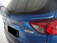 Спойлер из стеклопластика на Mazda CX-5 2011