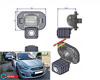 Штатная камера Hyundai Accent Sony Ultra HD CCD
