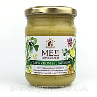 Мёд с тархуном и лаймом