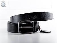 Ремень кожаный мужской Staff - BLCK 40 мм Art. CP0001 (чёрный)