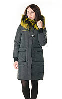 Женская зимняя куртка-парка VoTarun с натуральным мехом