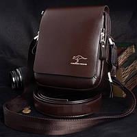 Мужская кожаная сумка. Модель 424, фото 1