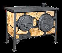 Печь отопительно-варочная с духовкой «Эктор»- Вит