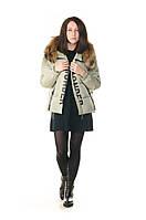 Куртка женская зимняя с натуральным мехом VoTarun
