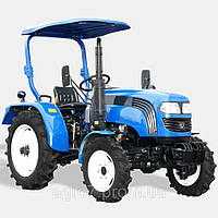 Трактор ДТЗ 4244Р(КПП 8+8, 4x4, 3 цил., 24л.с., гур, навес)