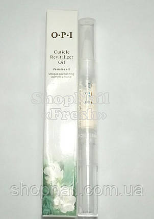 Масло OPI для кутикулы и ногтей, жасмин, фото 2