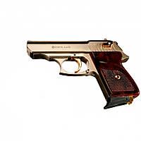 Пистолет стартовый (сигнальный) Ekol Lady (сатин с позолотой)