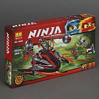 Конструктор Ningago 331 дет, в коробке.Конструктор для мальчиков Ниндзяго. Ниндзя конструктор.