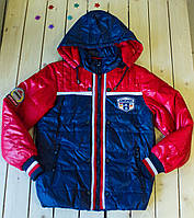 Куртка деми на мальчика 7-12 лет
