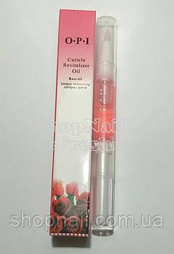 Масло OPI для кутикулы и ногтей, роза, фото 2