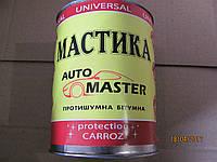 Мастика битумная автомобитьная с резиновой крошкой 0,9 кг