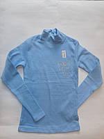 Водолазка голубая для девочек Benini от 140 до 176 см рост., фото 1