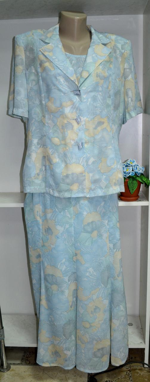 Женский летний костюм тройка, фото 1