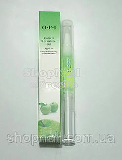 Масло OPI для кутикулы и ногтей, зеленое яблоко, фото 2