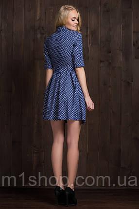 63512ecb654a9e8 Женское платье-рубашка в горошек (5914 ie) купить недорого ...