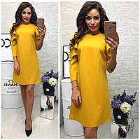 Платье 783/2 горчица