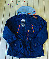 Куртка-парка демисезон  на мальчика  рост 134-146 см, фото 1