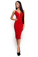 Елегантне червоне вечірнє плаття Riviera (S, M)