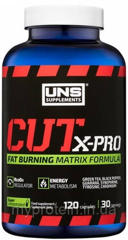 UNS Для снижения веса CUT X-PRO 120 caps