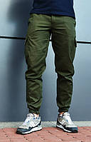 Мужские брюки Cargo Clasic цвета хаки