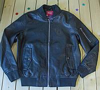 Модная куртка-бомбер для мальчика рост 134-164 см