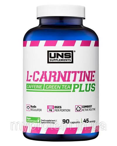 UNS Л-карнитин L-Carnitine PLUS 90 caps