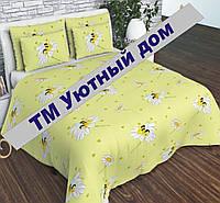 Полуторное постельное с 1 наволочкой Детское Ромашки