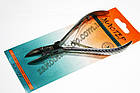Кусачки нігтьові Майстер 805 для обрізання кутикули і нігтів на ногах і руках, ручне заточування, тип упаковки: пл, фото 3