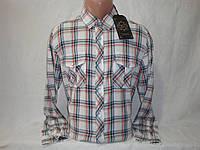 58e55c5d9e1 Мужская рубашка на кнопках в клетку с длинным рукавом Junker.  Сертифицированная компания.
