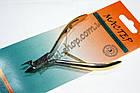 Кусачки маникюрные Мастер 811 для обрезания кожицы вокруг ногтей, ручная заточка, тип упаковки: пластиковый бл, фото 3