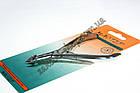 Кусачки манікюрні Майстер 815 для обрізання шкірки навколо нігтів, ручне заточування, тип упаковки: пластиковий бл, фото 3