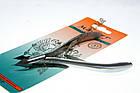 Кусачки маникюрные Мастер 844 для обрезания кожицы вокруг ногтей, ручная заточка, тип упаковки: пластиковый бл, фото 3