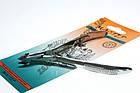 Кусачки манікюрні Майстер 857 для обрізання шкірки навколо нігтів, ручне заточування, тип упаковки: пластиковий бл, фото 3