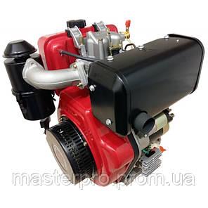 Двигатель дизельный Bulat BT186FE (Вал шлицы 25 мм), фото 2