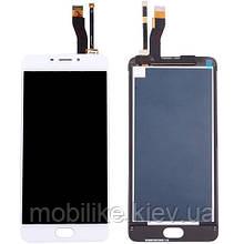 Дисплей з сенсорним екраном Meizu M5 Note (M621) білий