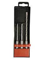 Набор буров по бетону, 5х110, 6х110, 8х160 мм, 3 шт., в пласт. коробке, SDS PLUS// MTX