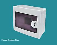 Коробка для 2 автоматов наружной установки