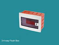 Коробка для 3-4 автоматов внутренней установки