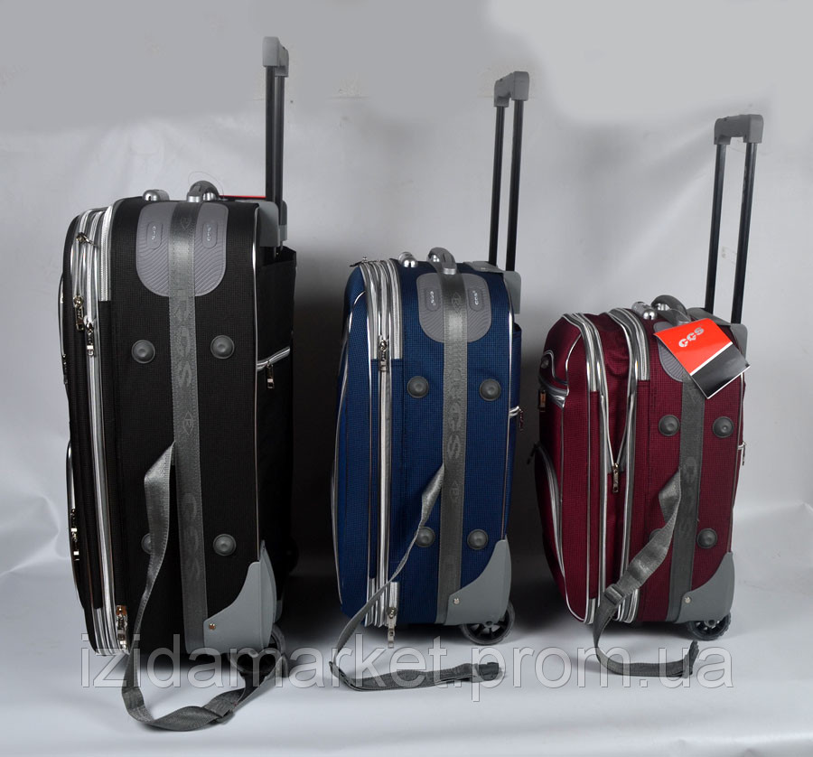 bd3761ca12a0 Комплект чемоданов фирмы CCS 3 в 1 на колесах (СИНИЙ) - ИЗИДАмаркет в  Хмельницком