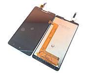 Модуль для Lenovo P780 (Дисплей + тачскрин), чёрный, оригинал