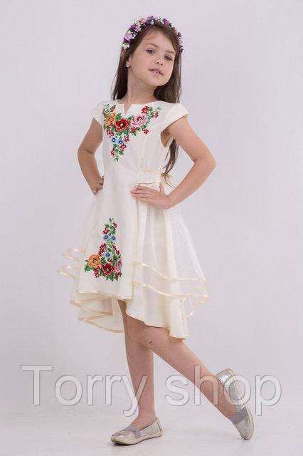 2b7909735fb53b3 Нарядное детское платье с вышивкой и фатином на юбке.: продажа, цена ...