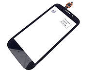 Тачскрин (сенсор) для Fly iQ4404 Spark, чёрный оригинал