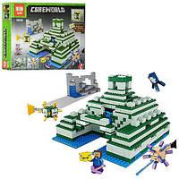 """Конструктор Lepin Minecraft  """"Пирамида в океане"""" 828 деталей (18029)"""