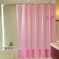 Клеенчатые шторки в ванну