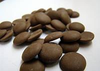 Шоколадные чипсы черные 56% какао Люкс Украина