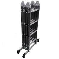Лестница алюминиевая мультифункциональная трансформер Werk 4x4